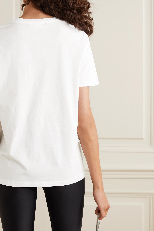 The Upside Printed organic cotton-jersey T-shirt