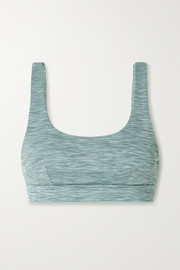 The Upside Ocean Daisy space-dyed stretch sports bra