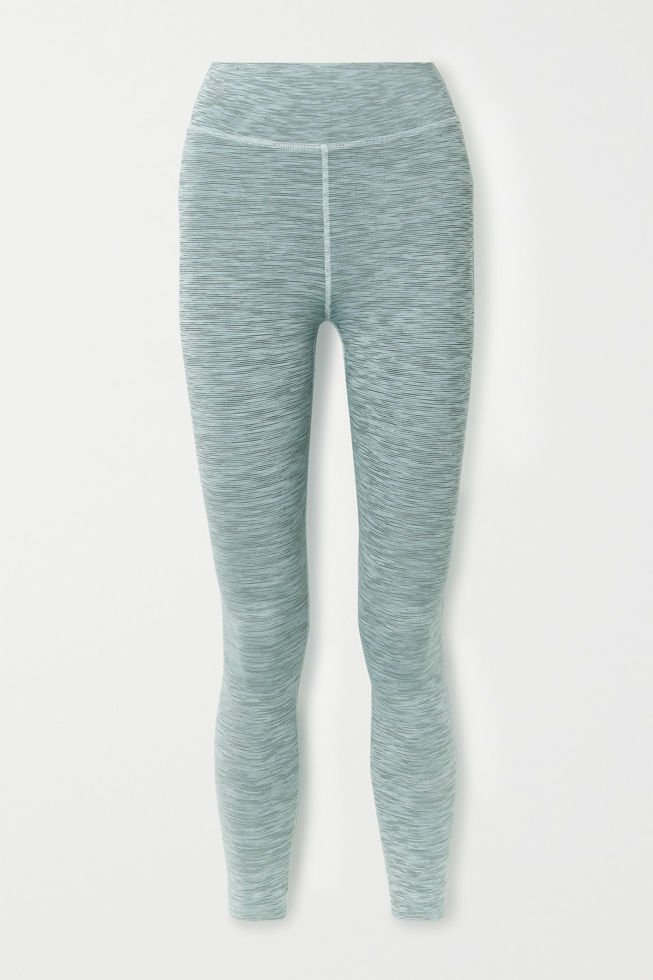 The Upside Ocean Leggings aus Stretch-Material in Space-Dye-Färbung
