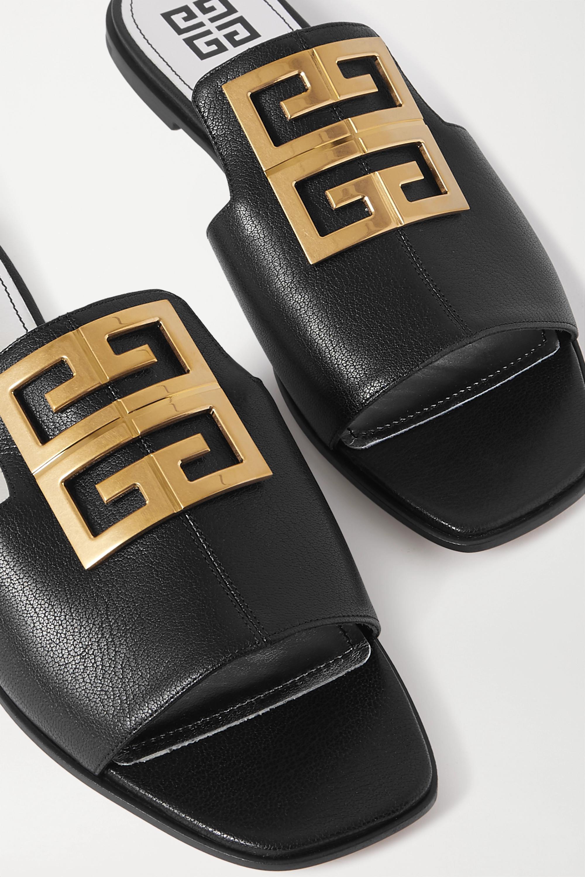 Givenchy 4G logo-embellished leather sandals