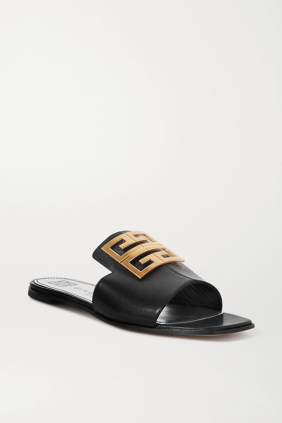 Givenchy 4G logo-embellished leather sandals