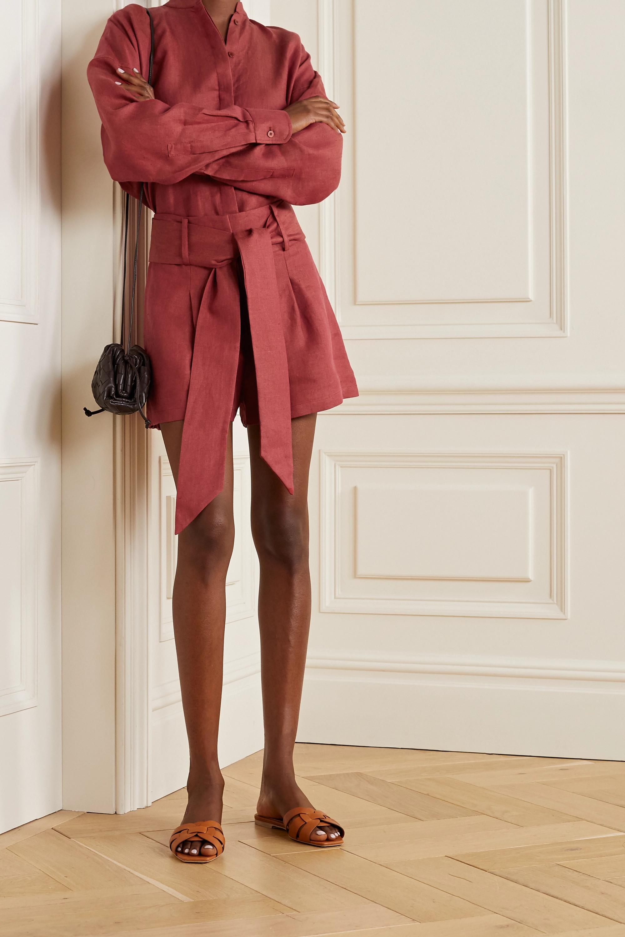 BONDI BORN + NET SUSTAIN Everywhere linen shirt