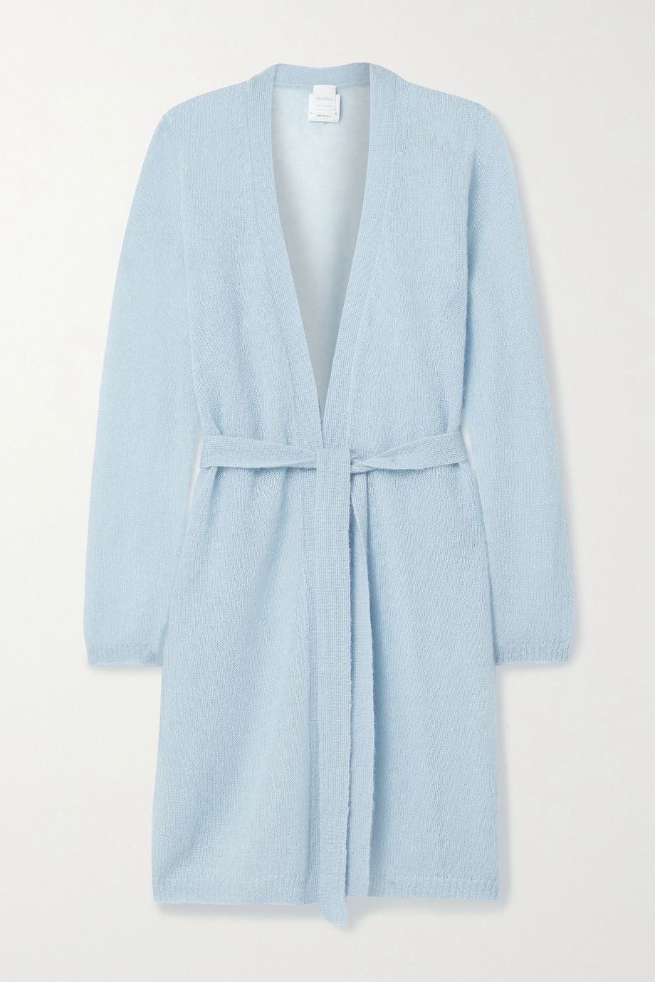 Max Mara Leisure Calante belted mohair-blend cardigan