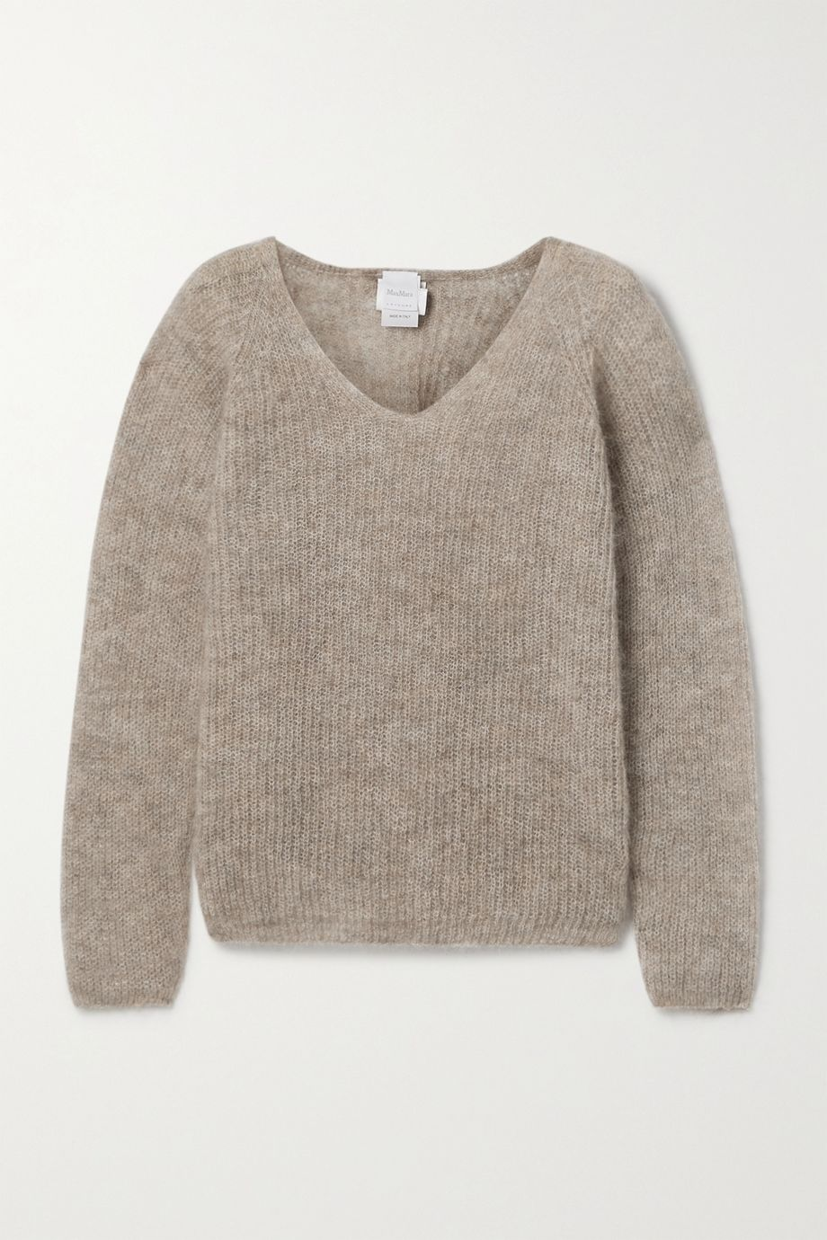 Max Mara Leisure ribbed mohair-blend sweater