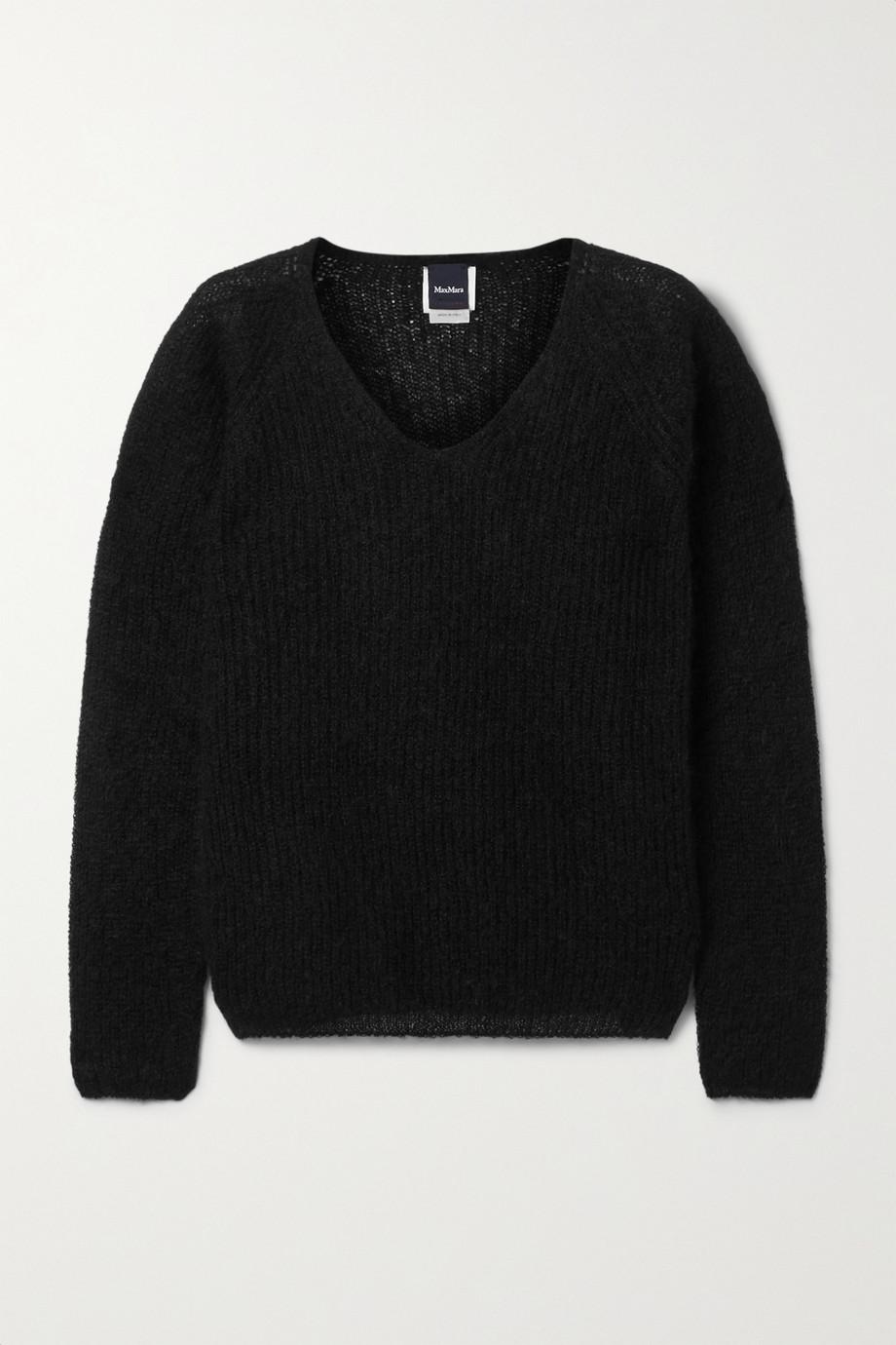 Max Mara Leisure ribbed mohair-blend sweater