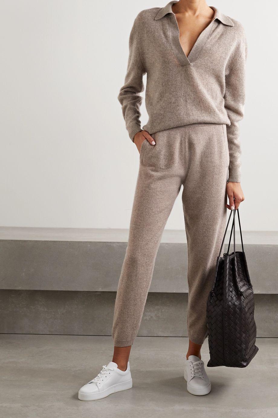 Max Mara Leisure Pernice cashmere track pants