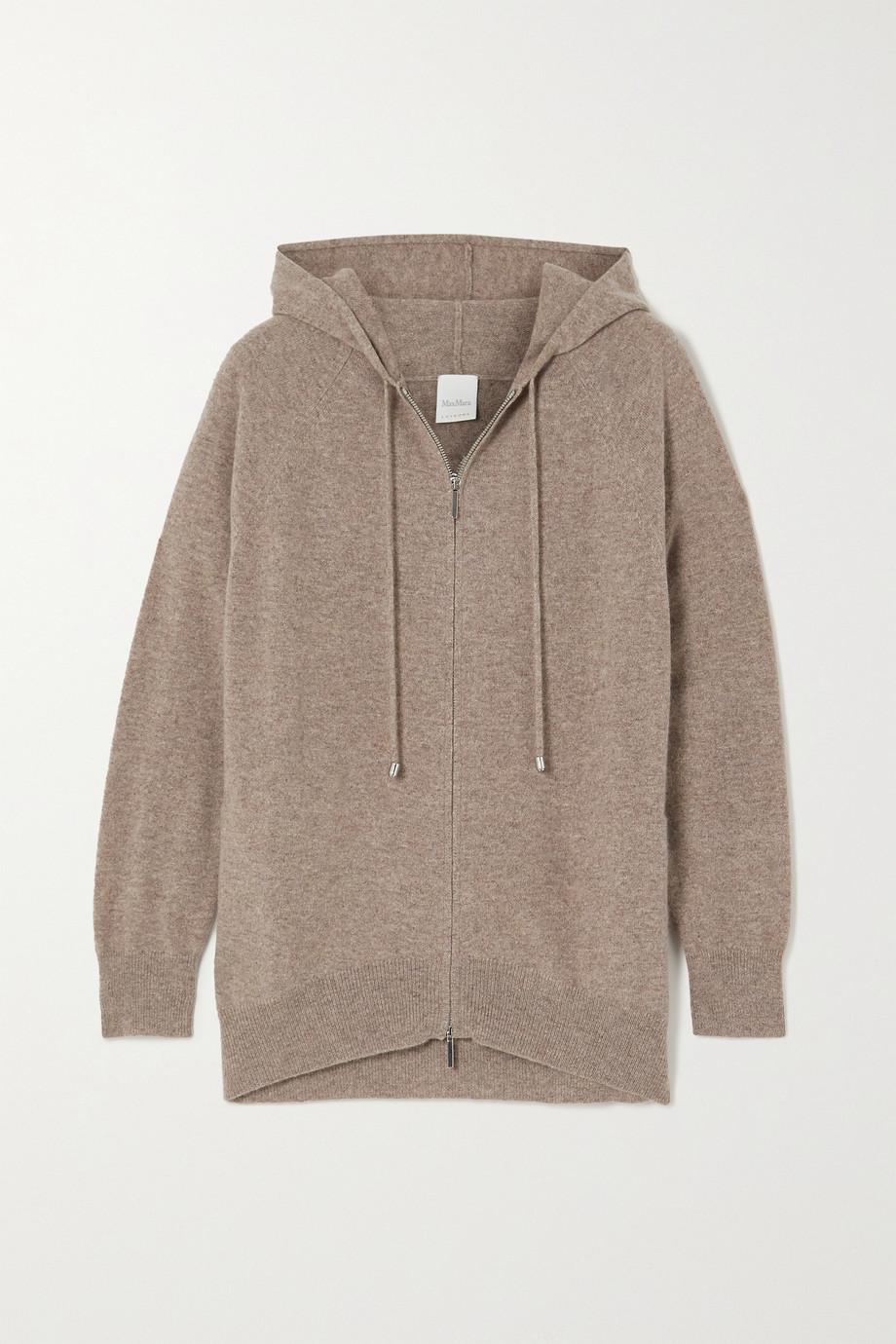 Max Mara Leisure mélange cashmere hoodie