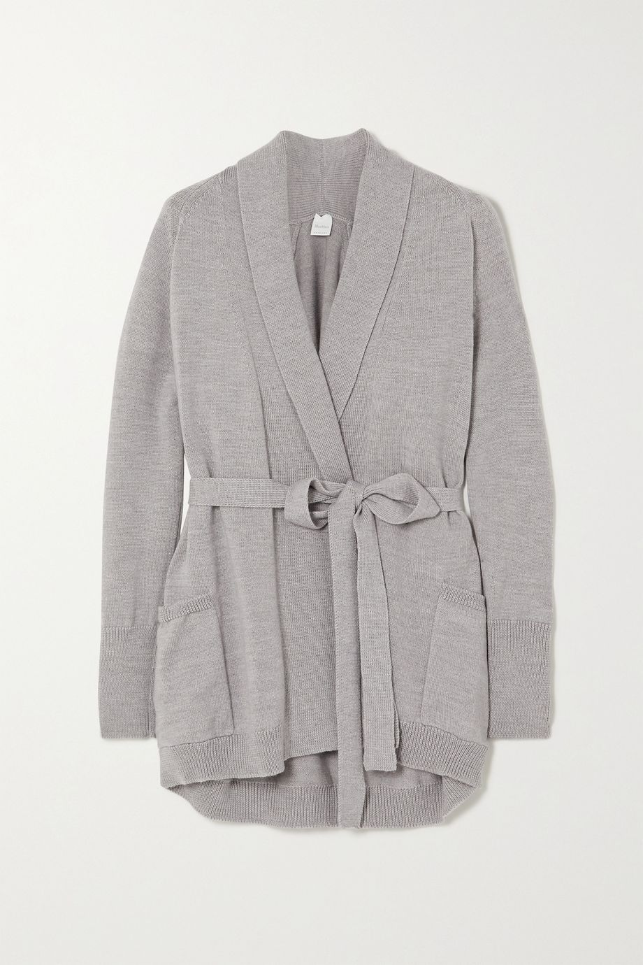 Max Mara Leisure belted wool cardigan