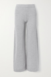 Max Mara Leisure Renna wool wide-leg pants