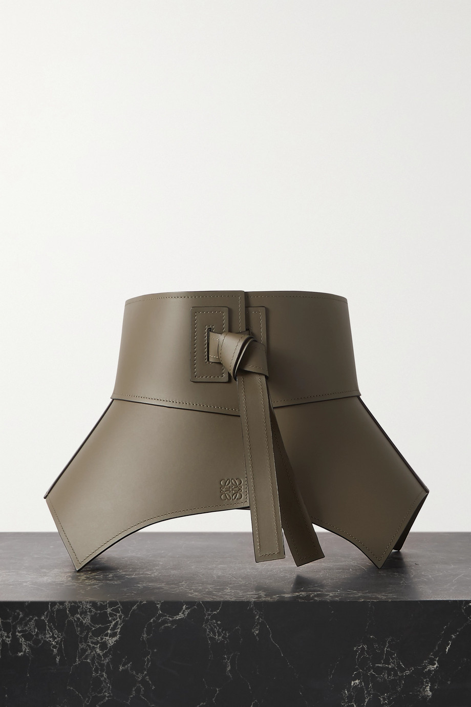 Loewe Obi leather waist belt