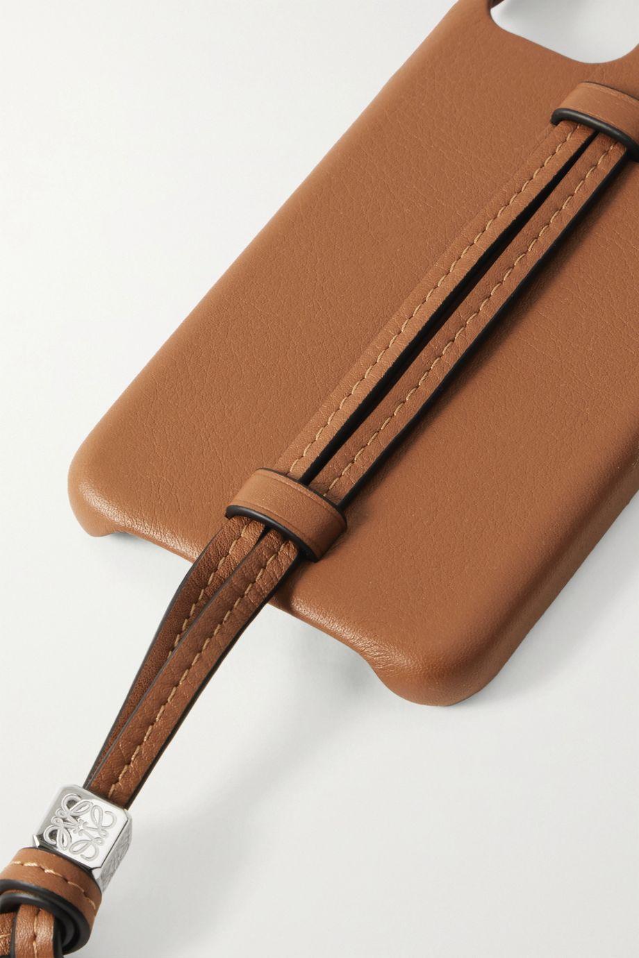 Loewe Coque pour iPhone 11 en cuir