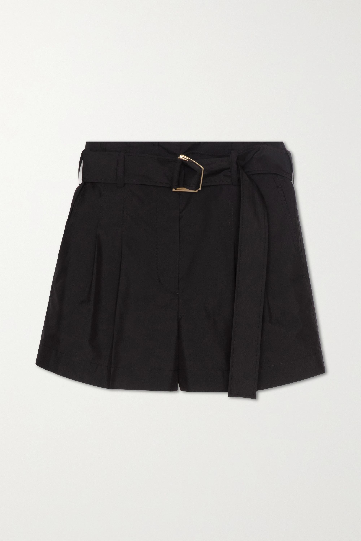 3.1 Phillip Lim Shorts aus einer Baumwollmischung mit Falten und Gürtel