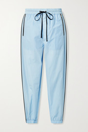 3.1 Phillip Lim Cotton-blend jersey track pants
