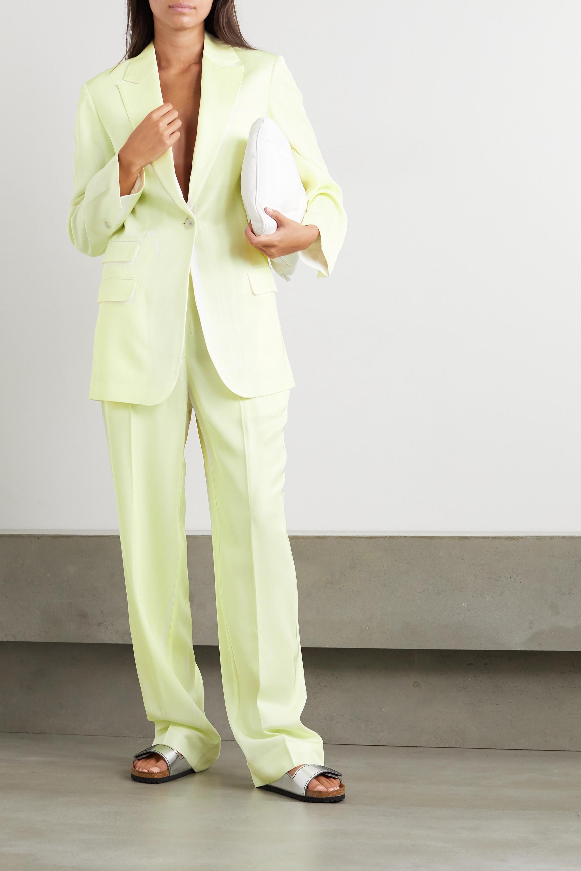 3.1 Phillip Lim Two-tone twill blazer