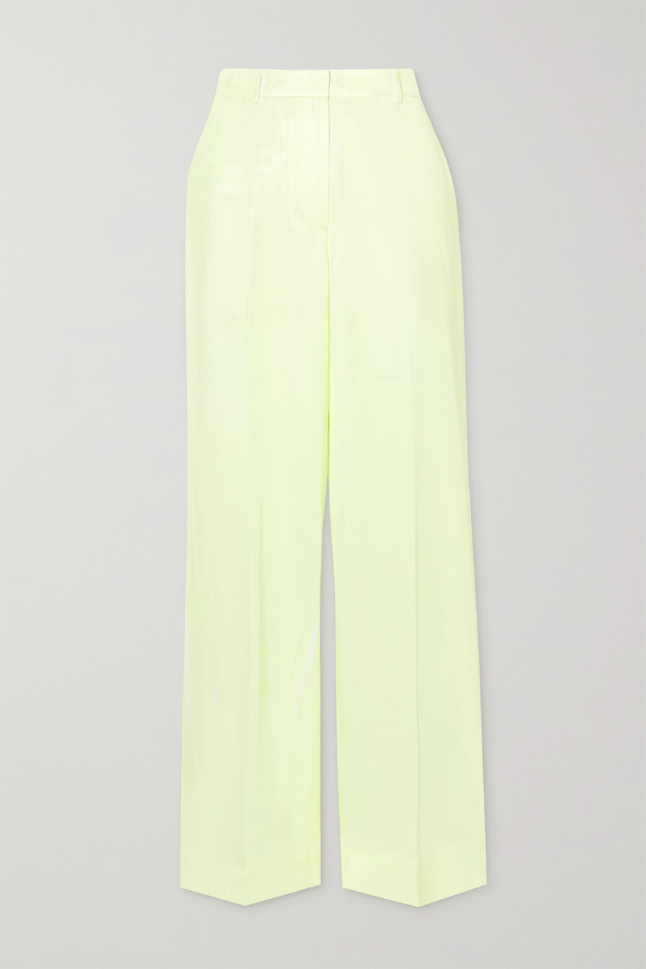 3.1 Phillip Lim 双色斜纹布长裤