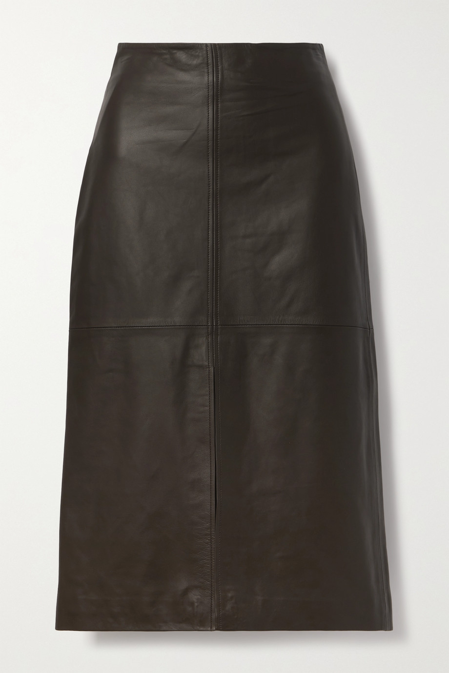 Co Leather midi skirt