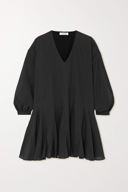 Anine Bing Peyton cotton-poplin mini dress