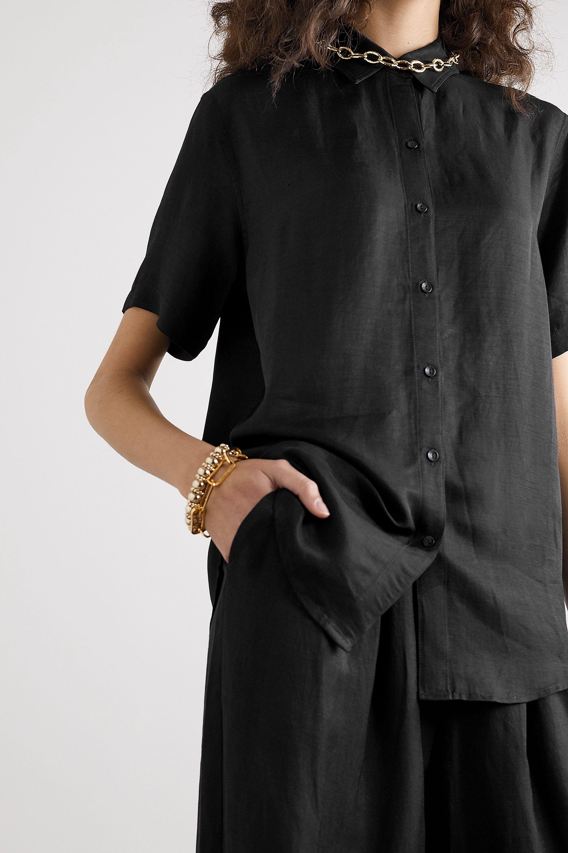 Anine Bing Bruni oversized woven shirt
