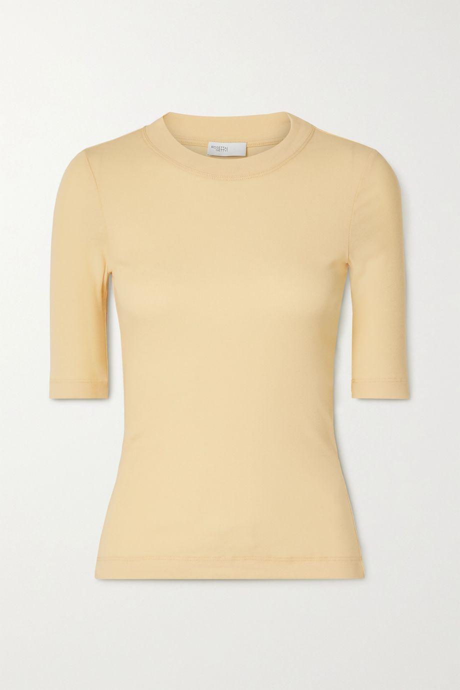 Rosetta Getty Cotton-jersey T-shirt