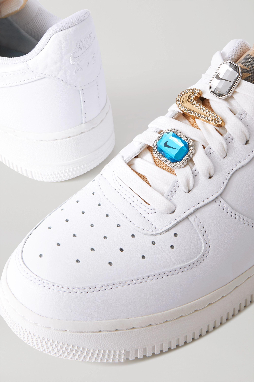 White Air Force 1 Gel crystal