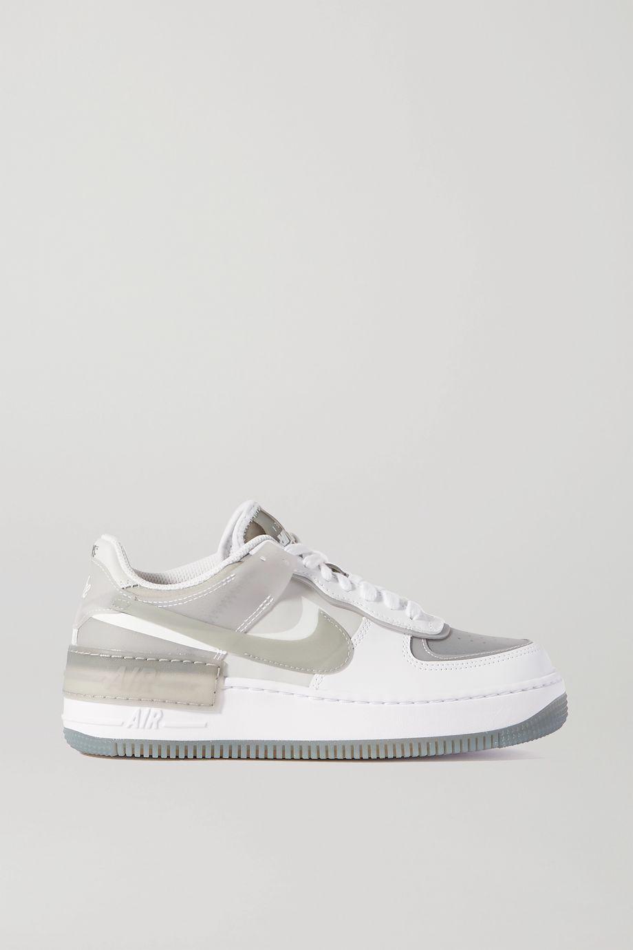 Nike Air Force 1 Shadow SE Sneakers aus Leder und Gummi