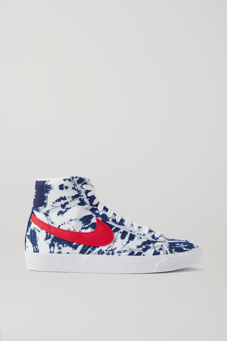 Nike Blazer Mid '77 tie-dyed canvas sneakers