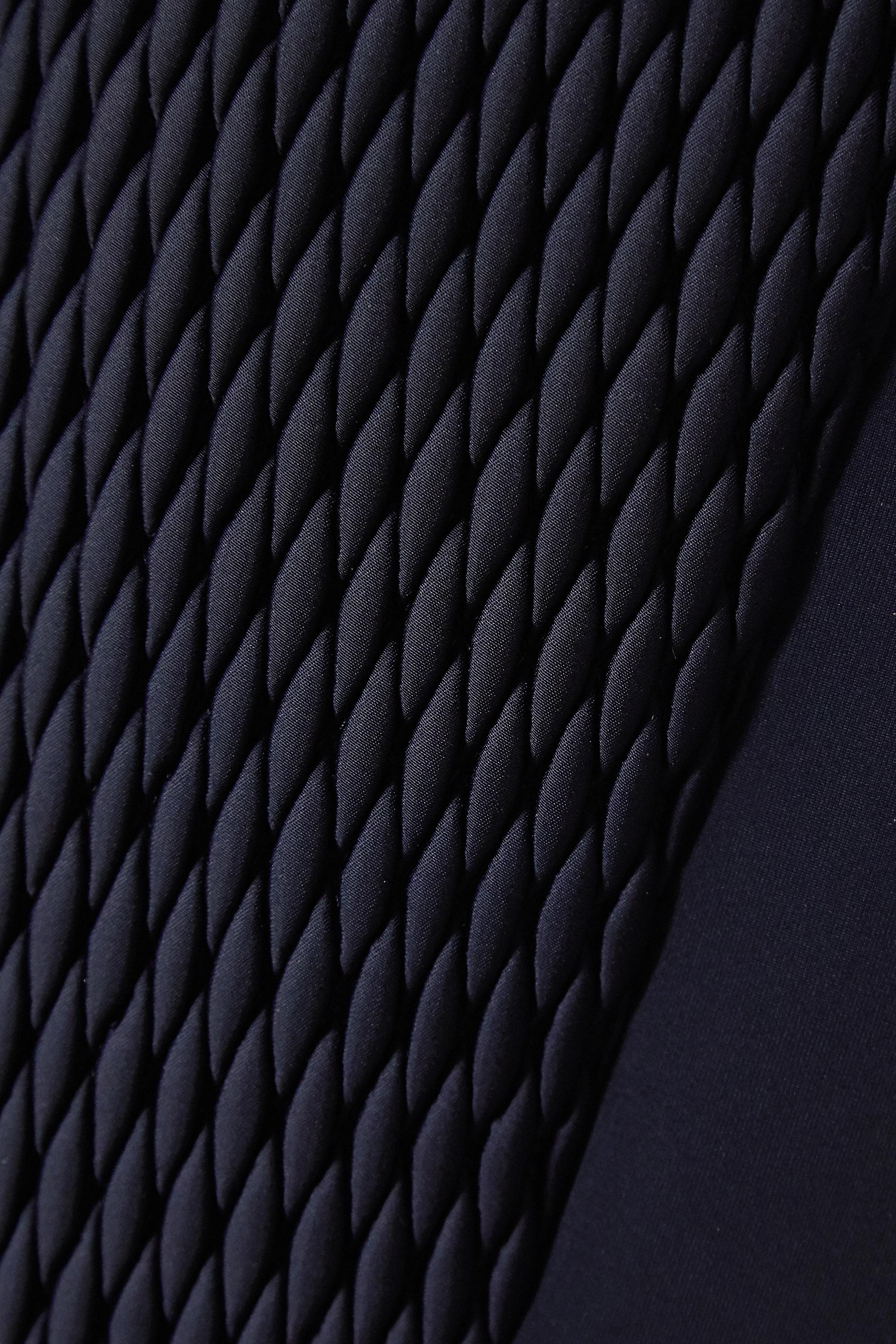 Chloé Veste de ski matelassée à finitions en peau lainée x Fusalp