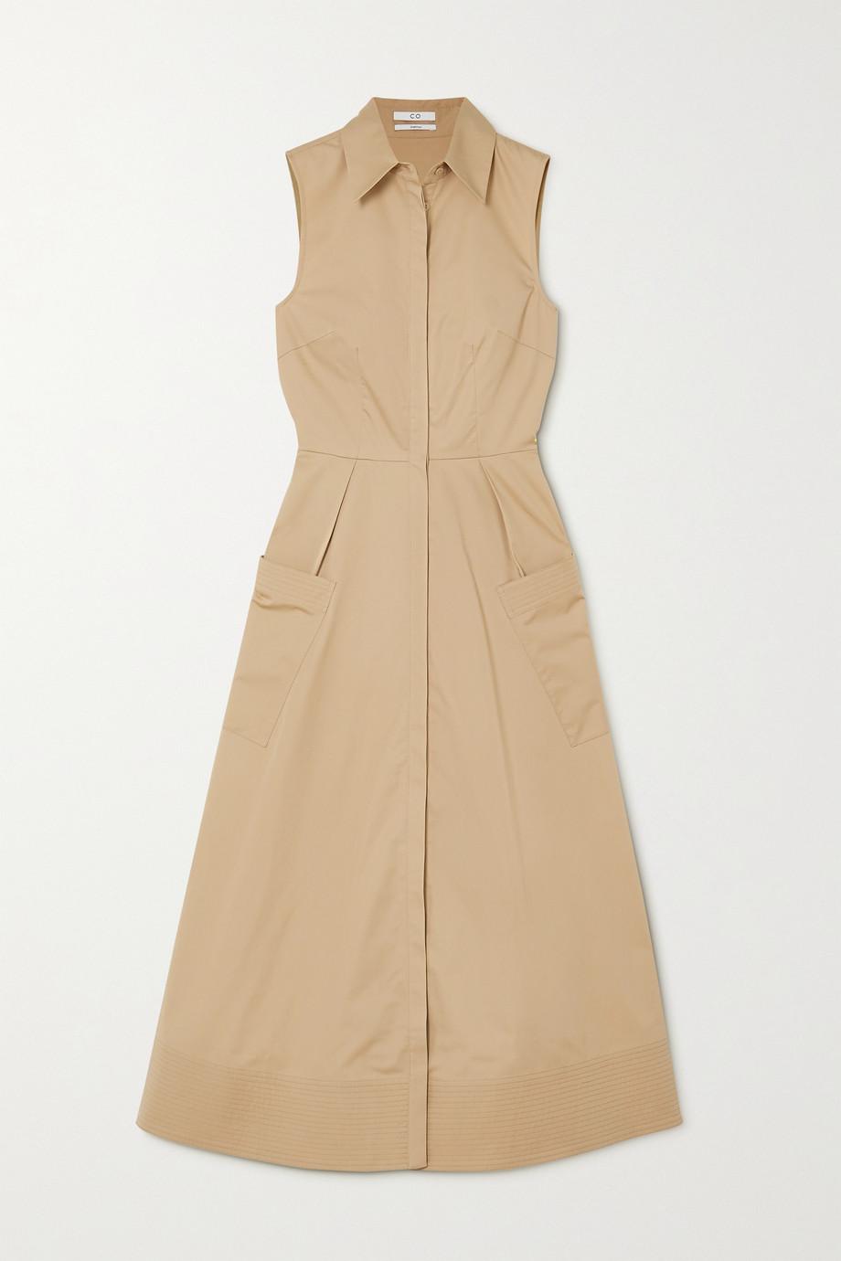 Co Cotton-poplin midi shirt dress