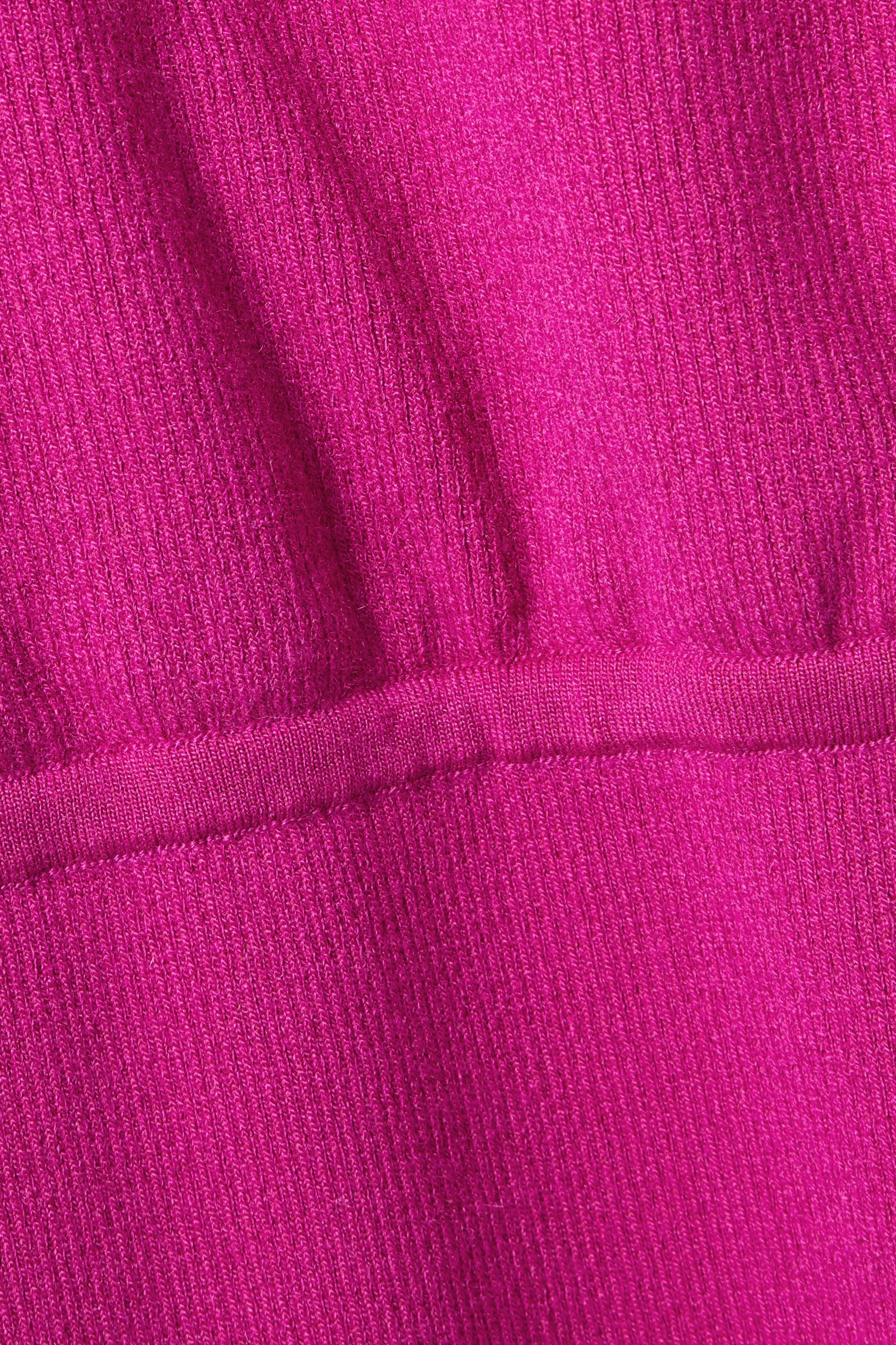 TOM FORD Kleid aus einer gerippten Kaschmirmischung mit Kapuze