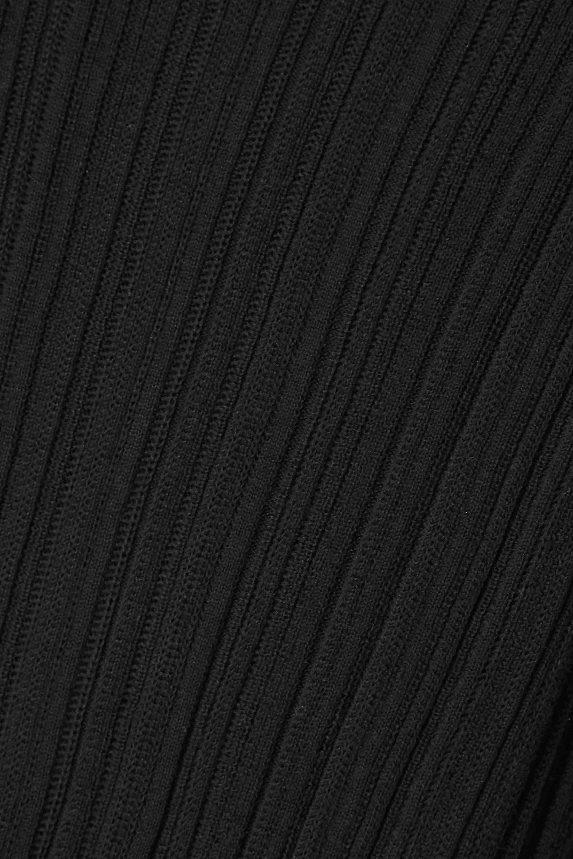 Vince Oberteil aus gerippter Baumwolle