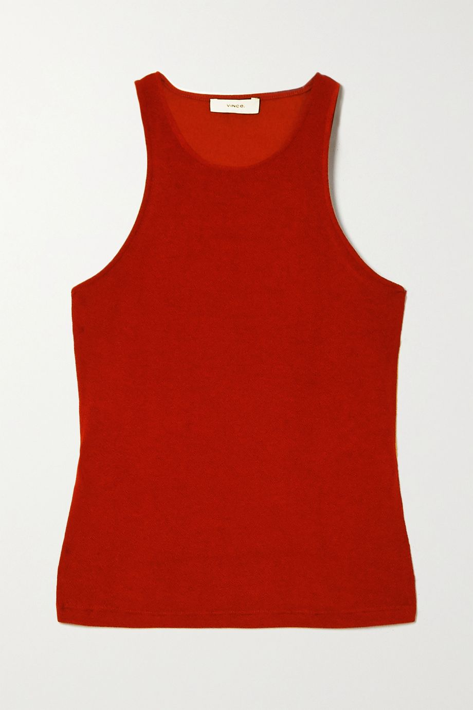 Vince Textured stretch-jersey tank