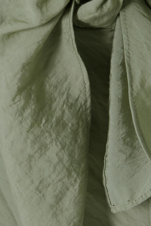Vince Hemdblusenkleid aus Twill zum Binden