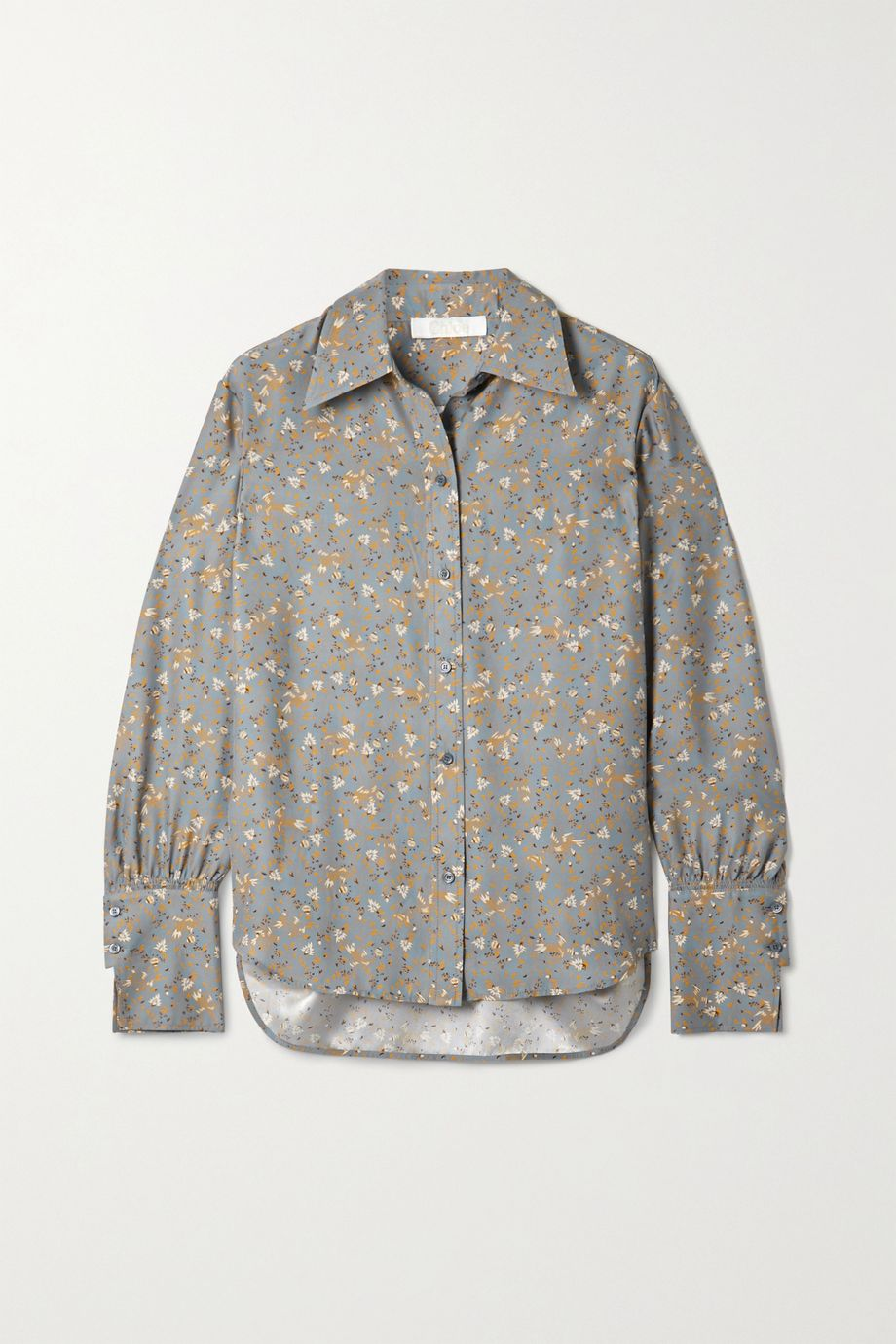 Chloé 花卉印花真丝双绉衬衫