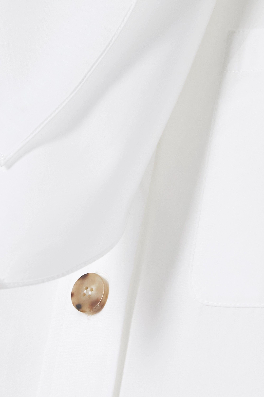 Chloé Bluse aus Baumwollpopeline mit Schluppe