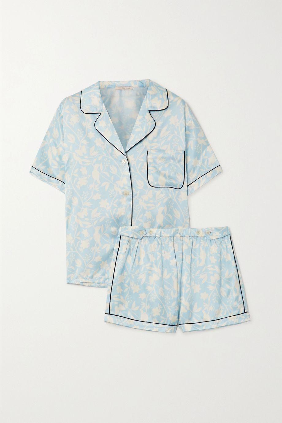 Morgan Lane Katelyn Fiona Pyjama aus Satin mit Blumenprint