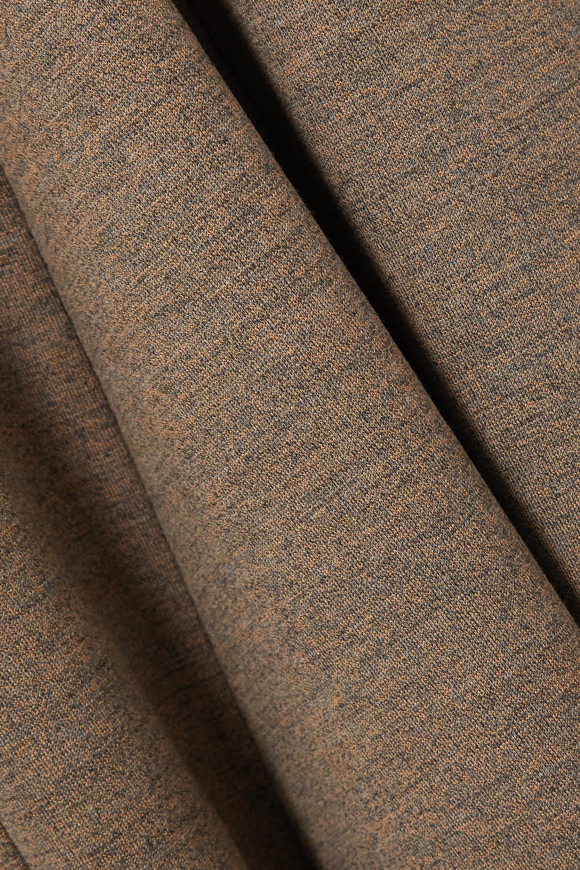 Jil Sander Pleated wool-jersey maxi dress