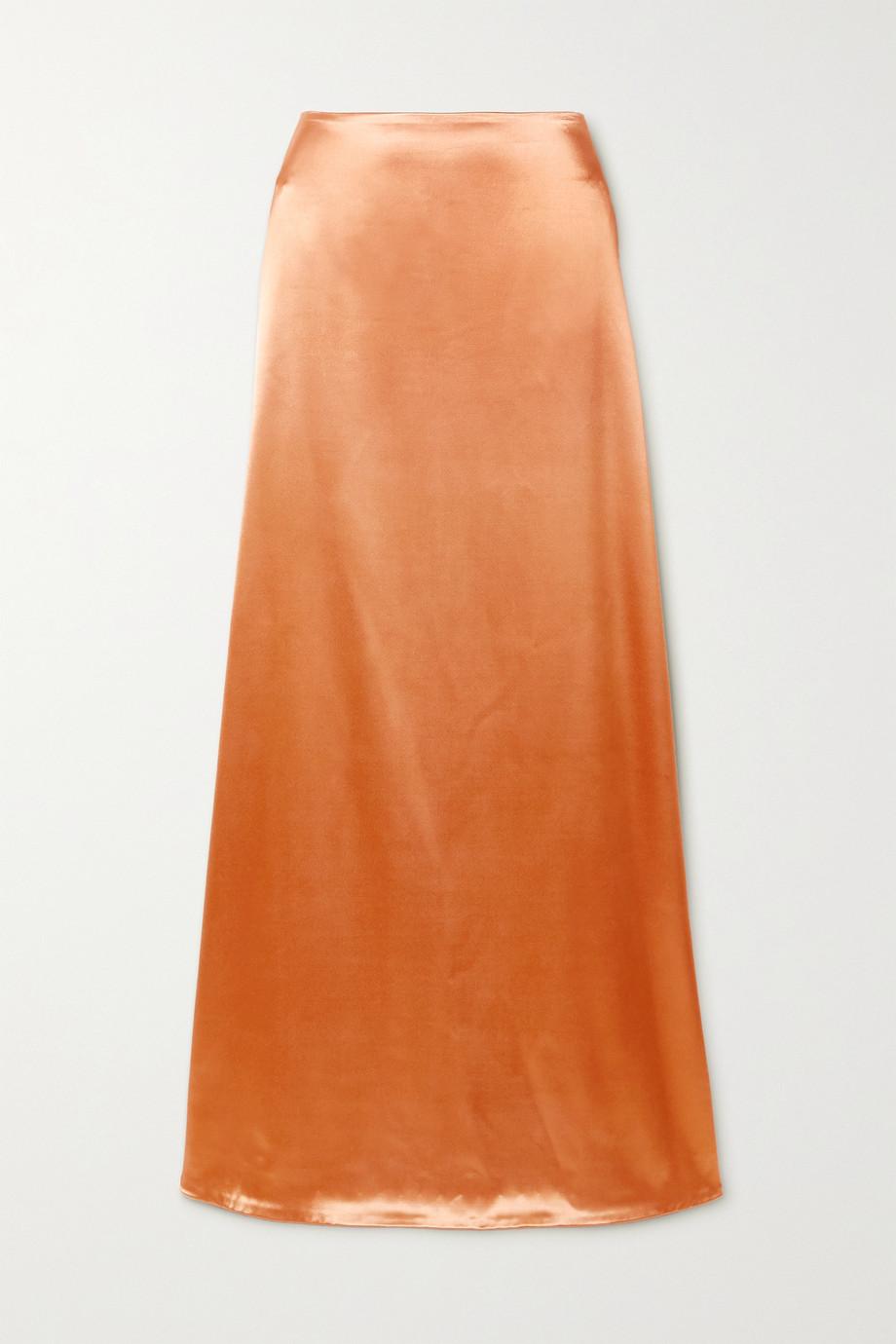 Jil Sander Satin maxi skirt