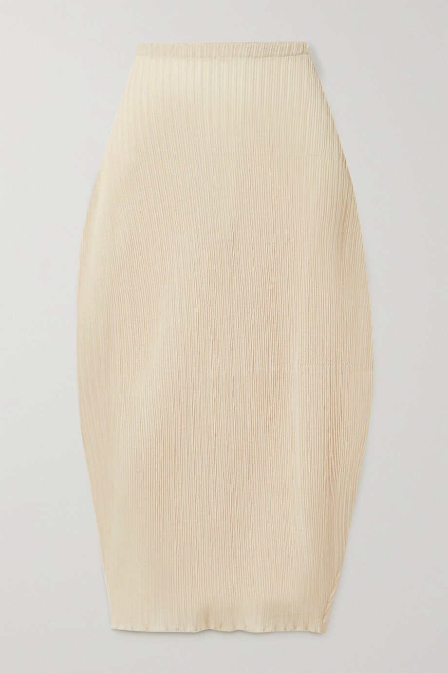 Jil Sander Ribbed stretch-jersey midi skirt