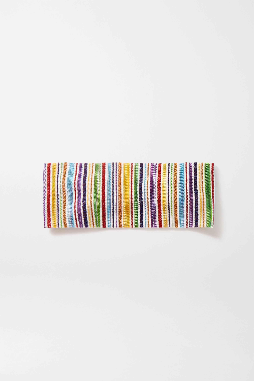 Missoni Haarband aus Häkelstrick