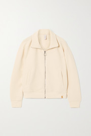 Varley Bloomwood ribbed cotton-blend jacket