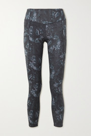 Varley Laidlaw printed stretch leggings