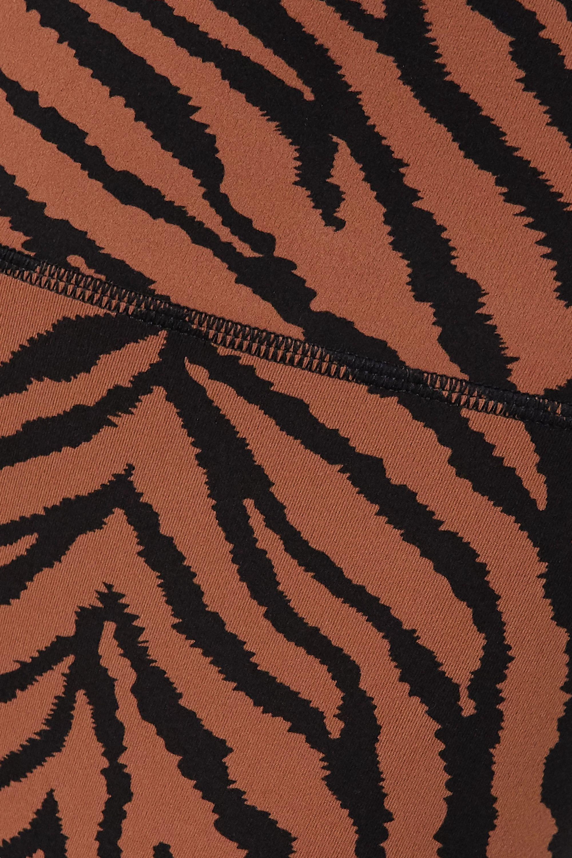 Varley Century Stretch-Leggings mit Zebraprint