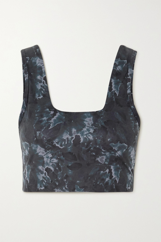 Varley Delta printed stretch sports bra