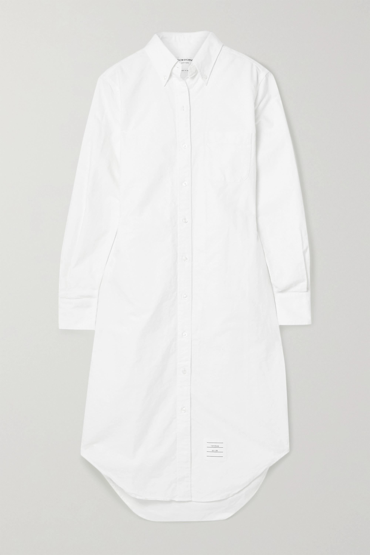 Thom Browne Cotton Oxford shirt dress