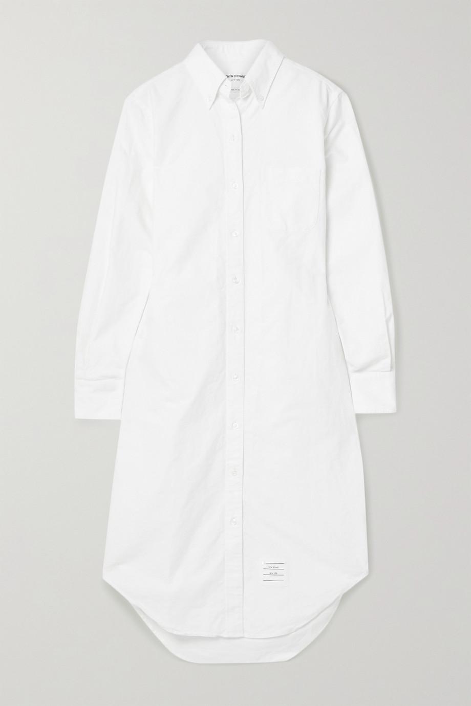 Thom Browne Robe-chemise en coton oxford