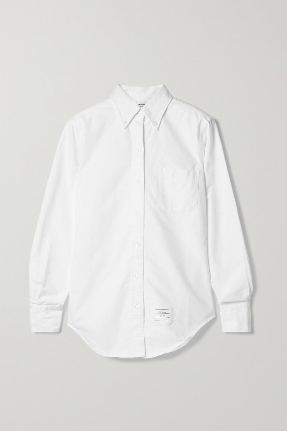 Thom Browne 纯棉牛津纺衬衫
