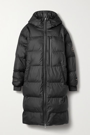 adidas by Stella McCartney Hooded quilted shell coat