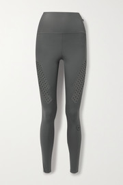 adidas by Stella McCartney Truepurpose perforated stretch leggings