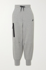 Nike Cotton-blend track pants