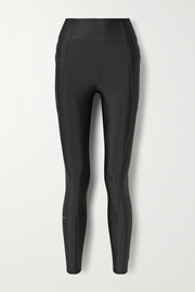 Nike City Ready coated stretch leggings